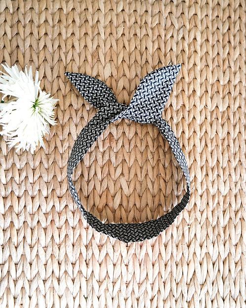 Headband bohème graphique