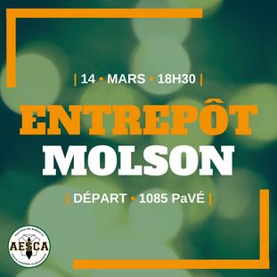 Entrepôt Molson - 14 mars 2018