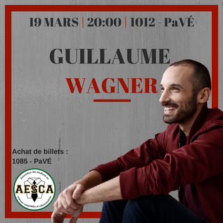 Show d'humour GUILLAUME WAGNER - 19 mars 2018