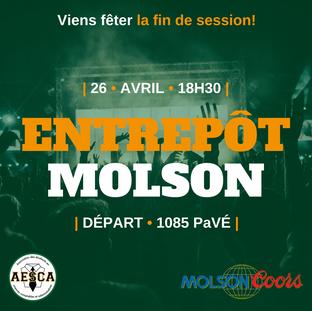 Entrepôt Molson - 26 avril 2018
