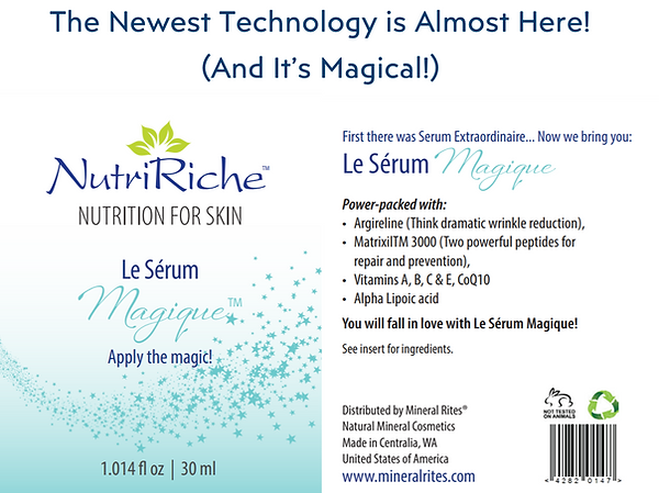 Le Serum Magique Front and Back with Cap