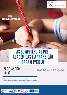 Sessão com Pais e Encarregados de Educação