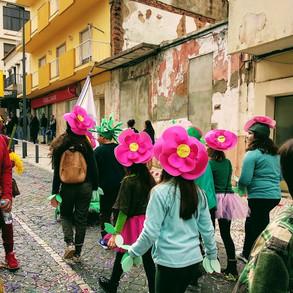 Participação no desfile de Carnaval