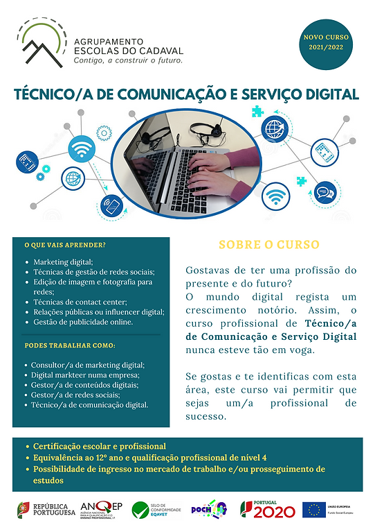 Técnico de Comunicação e serviço Digital