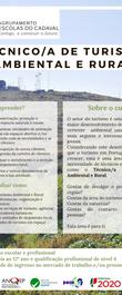 Cartaz Técnico de Turismo Ambiental e Ru