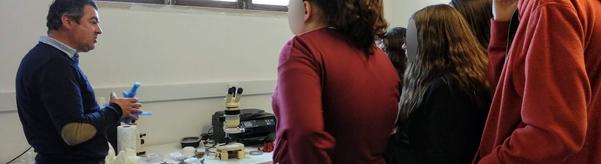Visita ao Laboratório de Paleontologia da SHN