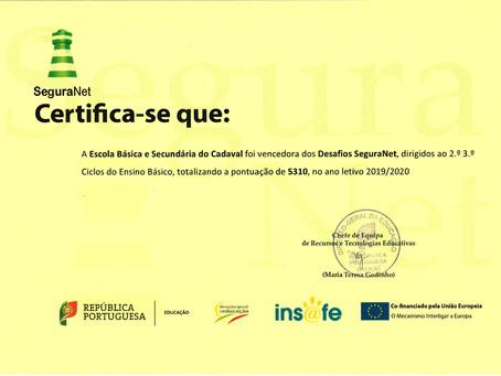 EBS vencedora dos Desafios SeguraNet