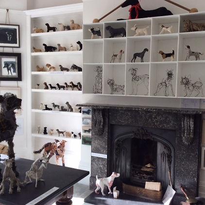 Dog art at The DOG SHOW 2016