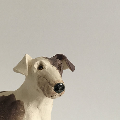 Perky Jack Russell Sculpture