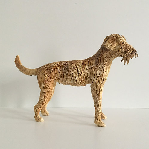 Irish Terrier Sculpture