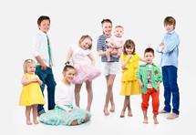Moteserie med barn for LØV / Byhaven. På jobb for BERRE.