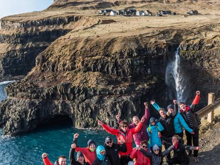Film release på Færøyene for The North Face