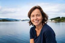 Inger-Marie Sperre for NHO. På jobb for Partnerstudio.