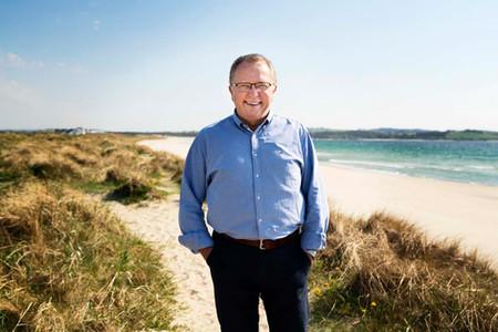 Eldar Sætre, tidligere konsernsjef i Equinor. På jobb for Partnerstudio