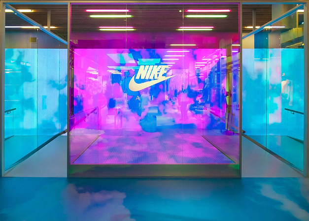 Nike SOHO NYC brand experience