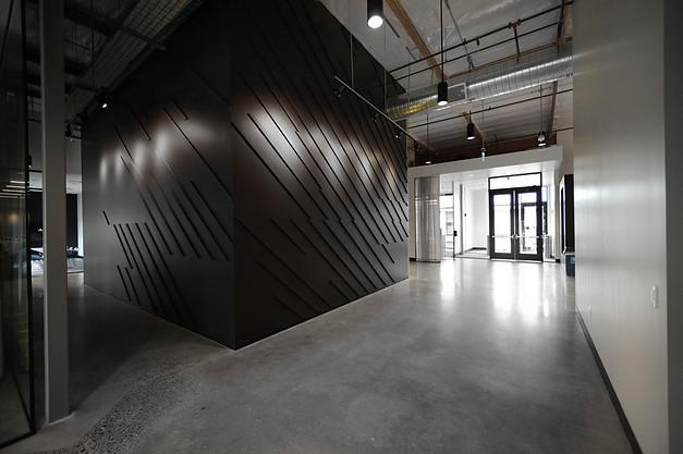 Nike World Headquarters volumetric wall // Oregon