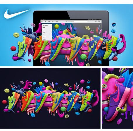 Illustration for Nike.com
