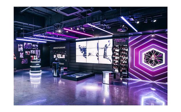 Niketown Lebron XIII immersive brand experience