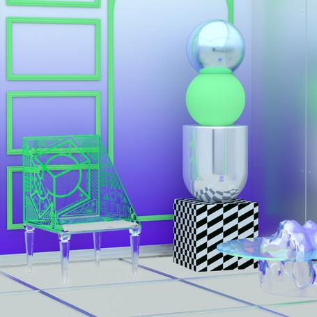 Interior Design + sculpture