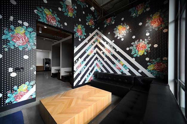 Nike World Headquarters employee break room // Oregon