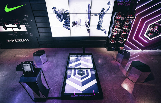 Niketown Lebron XIII immersive brand experience