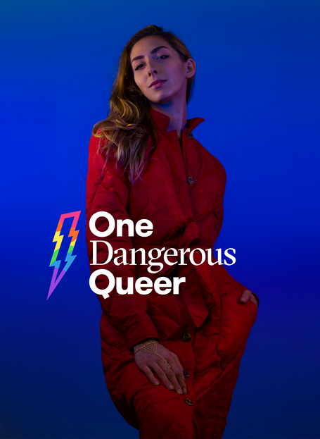 One Dangerous Queer photo series subject // Marlene