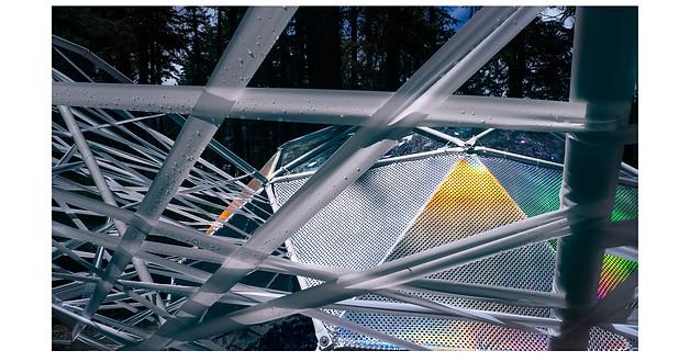 Metallic dome installation // Oregon