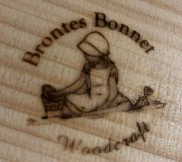 brand on wood