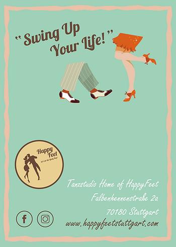 Lerne Lindy Hop und Charleston als Paartanz in Stuttgart. Außerdem werden Social Dances und Workshops bei HappyFeet Stuttgart angeboten.