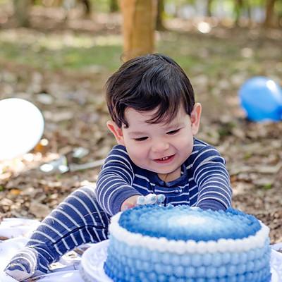 {Smash the cake do Kiko}