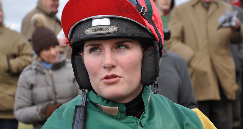 Gina Andrews showed why she's leading lady in today's Crudwell Cup