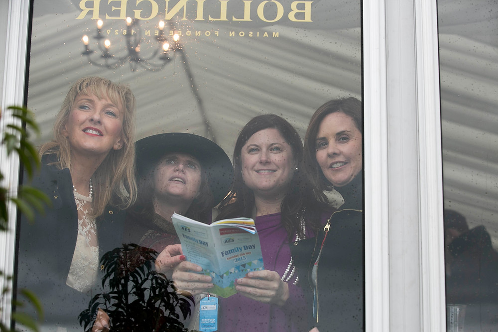 Recegoers enjoying the 5 day Punchestown Festival