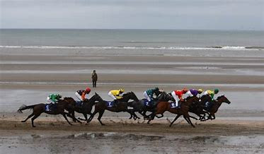 Laytown Races on the strand - a quintessentially Irish occasion