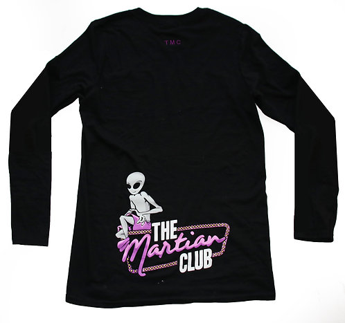 GRAPHIC Long Sleeve T - Black