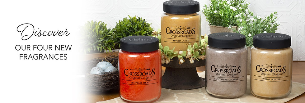 26 oz Crossroad Candles - Variety of Fragrances