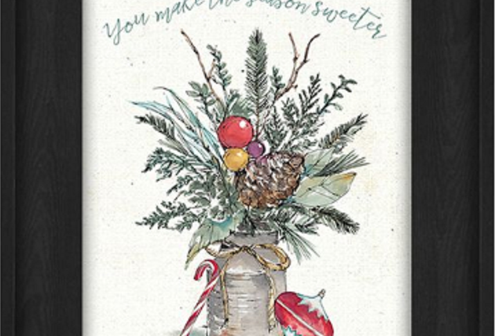 "Picture - You Make the Season Sweeter - 6"" x 8""   (36858)"