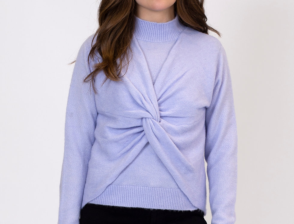 Periwinkle 2 Piece Sweater Set - Small