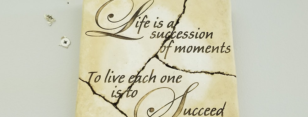Sign - Life is a succession of Moments  (995574)