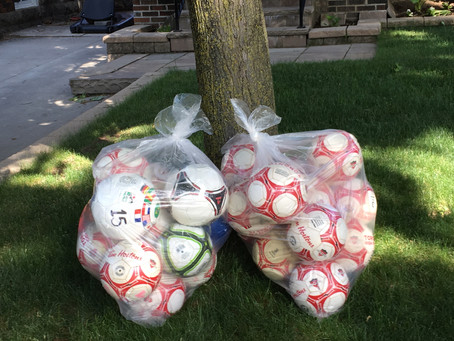 Toronto elementary school enjoys the gift of soccer