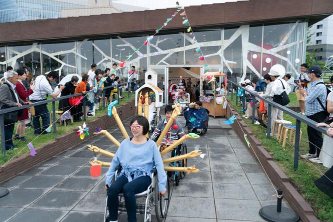 No51 車椅子さんのファッションショー // 信耕ミミ Photo:Hajime Kato