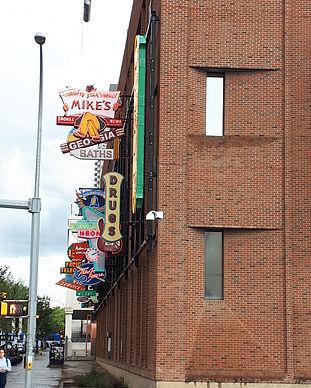 Edmonton's Neon Sign Museum.