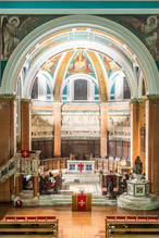 interior architectural photography of St Cuthberts Church in Edinburgh
