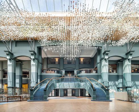 main atrium space to Fairmont Hotel in St Andrews interior hotel photography