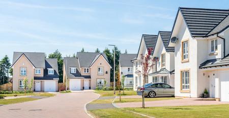 Barratt-Homes-sunny-street-bright-crisp-houses-street-scene-photography