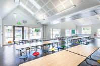modern school canteen design interior school photography