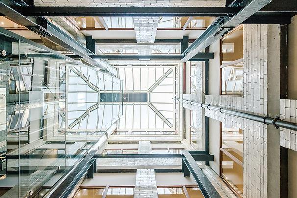 Z-Hotel-lightwell-stunning-interior-photography-glasgow