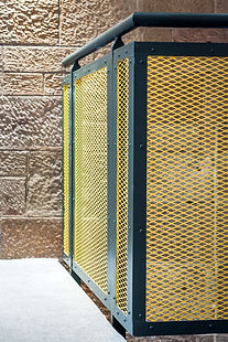 architecture-product-photography-mesh-steel-balustrade-detail