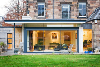 contemporary-glazed-house-extension-period-property-dusk-architectural-photographer-edinburgh