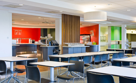 office-canteen-restaurant-bright-colours-interior-photographer