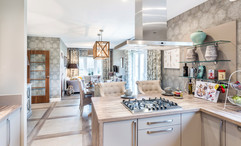 Cala-Homes-kitchen-family-gas-hob-island-extractor-showhome-photography